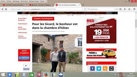 Tourisme en aveyron blog chambre d 39 hotes en aveyron - Difference entre gite et chambre d hote ...